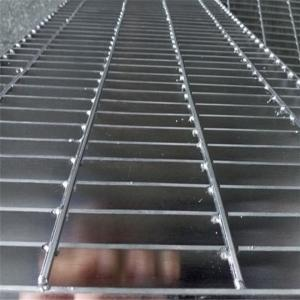 China Stainless Steel Flat Bar Grating Large Load Bearing Capacity For Storage Rack on sale