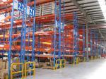 China Blue / Orange / Green Industrial Pallet Racks Heavy Duty Teardrop Type wholesale