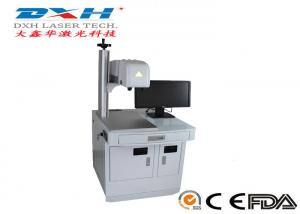 China Compact 3D Laser Marking Machine / Metal Scribing Machine 18-28℃ Working Temperature on sale