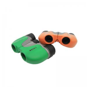 China Small Porro Children'S Play Binoculars 15mm Clear Aperture With Compass For Kids on sale