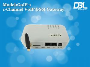 China SMS Server VoIP GSM Sim Card Gateway IP H323 / ITU VOIP With VLAN / Qos on sale