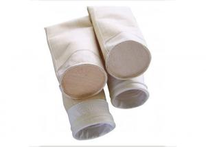 China Water Proof Nomex Baghouse Filter Bags Nonwoven , Industrial Filter Bags Withgood Electrical Insulation on sale