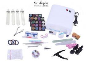China Popular Promotional Tool Kits , Full UV Gel Polish Nail Art Tool Set on sale