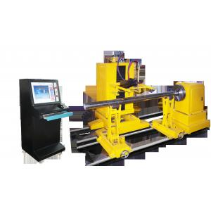 China 4axis Intersecting line cnc pipe cutting machine on sale