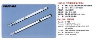 China Carril de la diapositiva/guía/transportes/diapositivas del cajón/diapositiva del rodamiento de bolitas/corredor/carril/guía/transportes de la diapositiva on sale