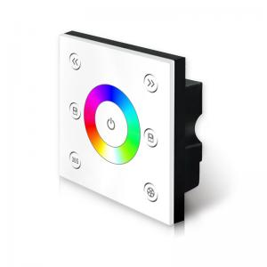 China DC12-24V RGB LED Light Controller , Rgb Touch Controller Simple Operation on sale