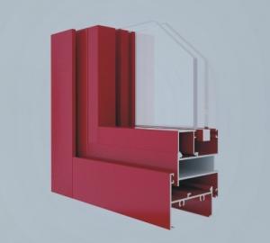 China Extrusion Aluminium Window And Door Profiles , Anodized Aluminium Edge Profile supplier