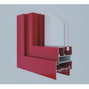 China Extrusion Aluminium Window And Door Profiles , Anodized Aluminium Edge Profile supplier