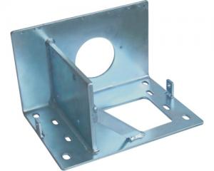 China Custom Welding Fabrication aluminium or brass Bracket polished services for Machinery part on sale