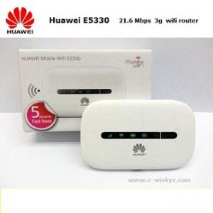 China Huawei E5330 3g wireless pocket wifi router Original Unlock mobile wifi router on sale