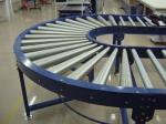 10m/Min 180Degree Turning Conveyor Belt Machine / Conveyor Belt Vulcanizing Machine