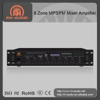 RH-AUDIO 6 Zone MP3 Mixer Amplifier for Background Music System in Multizone