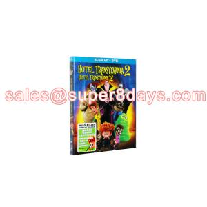 China Hotel Transylvania 2 DVD Blu-ray Disney Cartoon Movies Blu-Ray DVD Best Quality Wholesale Supplier on sale
