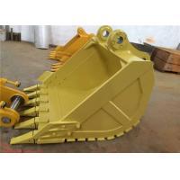 Heavy Duty Excavator Bucket , Earthmoving Cat Ditching Bucket For Excavator