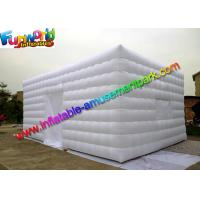 White Lightweight Commercial Air Inflatable Tent / Advertising Event Marquee