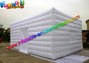 China White Lightweight Commercial Air Inflatable Tent / Advertising Event Marquee on sale