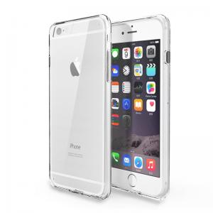 China Hybrid Clear TPU Bumper Iphone Protective Covers Anti Scratch For Apple Iphone 6 on sale
