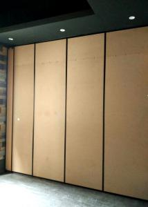 China Cost Effective Movable Retractable Partition Walls Systems Extruded Anodized Aluminum on sale