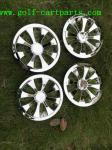 "8"" / 10"" Turbine Golf Cart Wheel Covers/hub Caps , wheels For Ez-go / Yamaha"