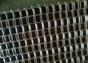 China Anti Corrsion Waste Handling System Stainless Steel Flat Wire Mesh Belt on sale