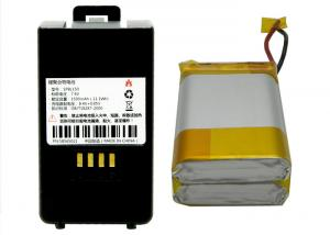 China Deep Cycle Smart Battery Pack , POS Device 7.4V Polymer Lithium Battery 1500mAh on sale
