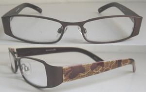 China Full Rim stylish frame UV 400 protection Reading Glasses with soft eyeglasses case on sale