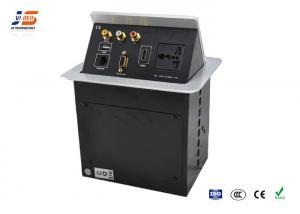 China Aluminum Desk Cable Management , Furniture Computer Cable Management on sale