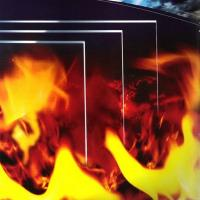 China 2015 hot sale China supplier Low price Safety fire rated glass for building on sale