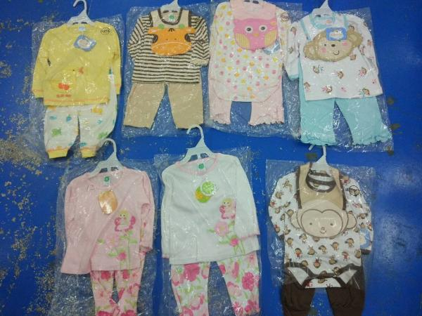 70bfe1686f365 Brand new in stock cotton baby clothes discount infant outfits stock ...