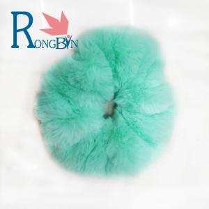 China Faux Rabbit Fur Colourful Charming Hair  Band Waist Band hair accessory on sale