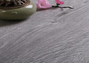 China Light Weight Grey WPC Vinyl Flooring 5.0mm Thickness With Diverse Design And Color on sale