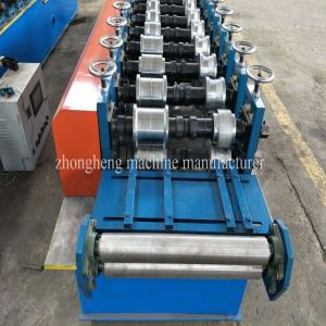 China 2.5 Tons 5.5Kw Metal Stud And Track Roll Forming Machine With 10 Roller Stations on sale