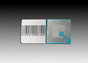 China Square Paper Retail Security Labels ,  Acrylic Adhesive Anti Theft Security Labels on sale