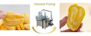 China Durable Jackfruit Fruit Chips Making Machine Fast Vacuum Stable Vacuum Condition on sale