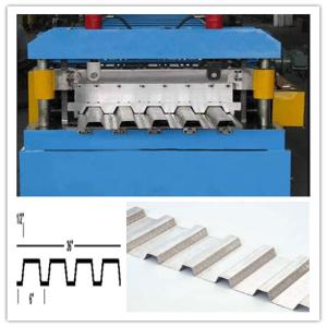 China Heavy Duty Deck Floor Roll Forming Machine on sale