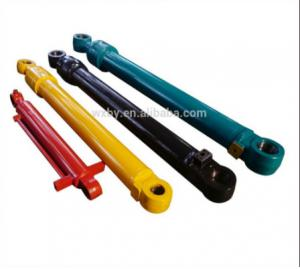 China Hydraulic Oil Cylinder Double Acting For Excavator Used on sale