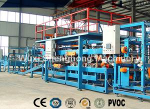 China ROCK WOOL sandwich panel Roll Forming Machine for wall cladding of steel house on sale