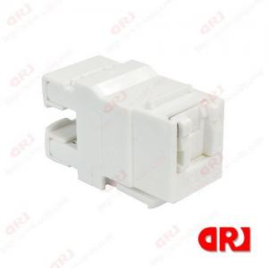 China 180 Degree CAT6 UTP Rj45 Connector / Electrical Connector Dustproof wholesale