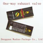 One-way Exhaust Valve Coffee Packaging Bags , PET / VMPET / PE Aluminum Foil Coffee Bag