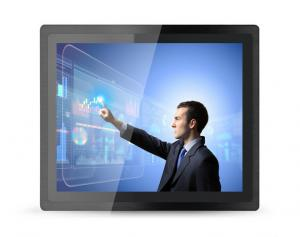 "China 10.4"" Panel Mount Touch Screen PC Industrial Grade DC 12V With Steel Enclosures on sale"