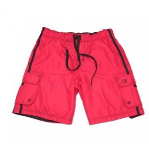 China TR Men's Cargo Elastic Waist Swim Short on sale