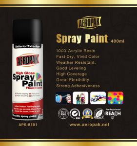 China Scratch Resistant Aerosol Spray Paints 400ml Car Spray Paint Cans on sale