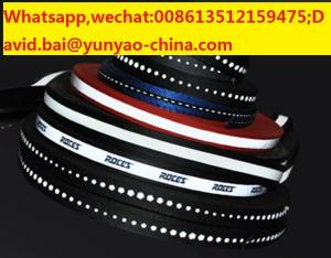 China reflective polyester tape sewed on reflective fabric tape for safety clothes on sale