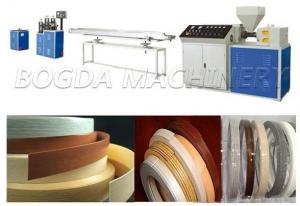 China Plastic Wood Edge Band Machine, PVC Edge Banding Extrusion Machine on sale