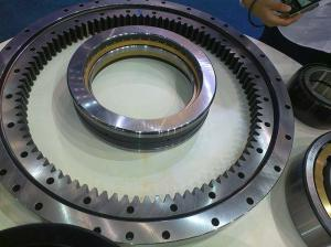 China 50Mn, 42CrMo China supplier Non-gear External gear Internal gear Lazy susan single Roller Slewing bearing on sale