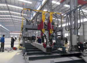 China Steel Structure Automatic Welding Machine H Beam / Box Beam Gantry Welding Machine on sale