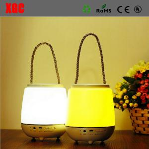 China Hanging Led Glowing Music Lamp Speaker With Bluetooth Contral For Hotel Or Coffee Shop on sale