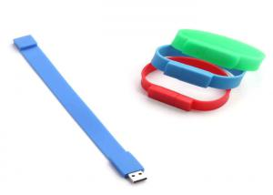 China Hot sell usb bracelet bulk 1gb usb flash drives,silicone bracelet usb flash drive on sale