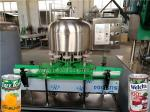 SUS304 Beverage Can Filling Machine / Tin Can Sealing Machine For Juice , Tea Drink