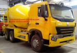 EuroII New 10tires SINOTRUK INTERNATIONAL HOWO A7 Concrete Mixer Truck 10CBM 371HP 6X4 LHD
